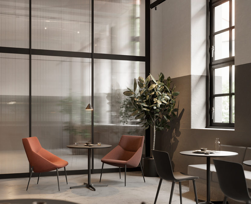soft seating hotels coworking