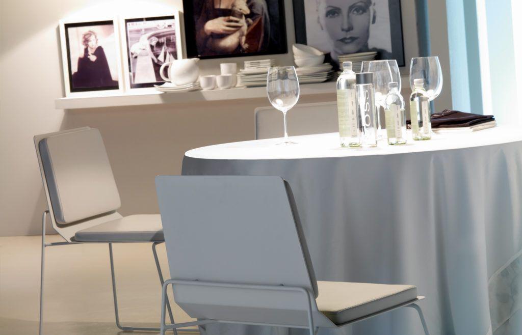 El Soft-Seating dará un aire de sofisticación a tus comedores